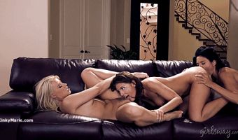The Turning Part 6 – Adriana Chechik Anikka Albrite Dana Vespoli