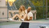 Aubrey Star – Tennis Student Gets Anal Lesson – Tushy