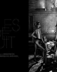 Filles De Nuittreats Magazine Photo Steven