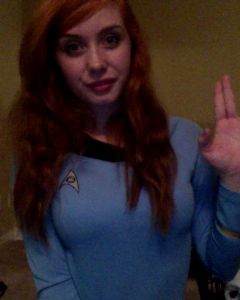 Queen Cumslut Made A New Star Trek Photo Set