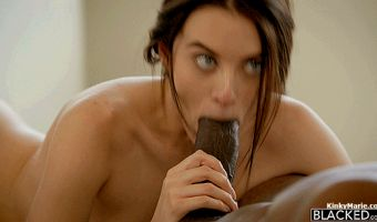 Lana Rhoades – Her First Interracial Scene – Blacked
