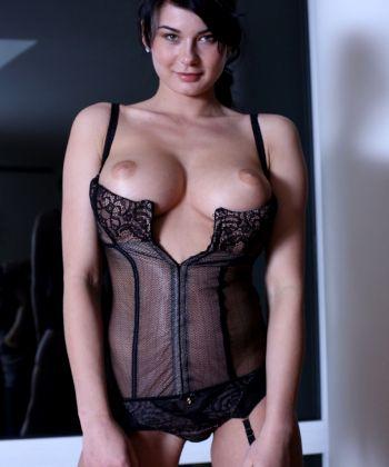 Busty Brunette